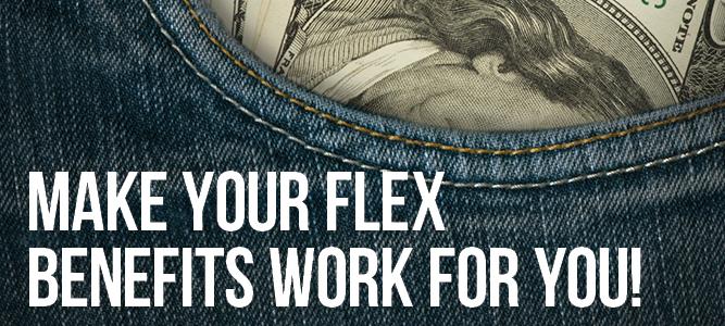 Flex spending graphic